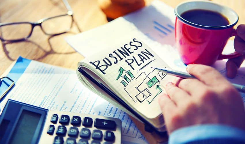 How to do up a business plan